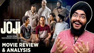 JOJI - Fafa & Pothettan Brilliance Again | Malayalam Movie Review | Dileesh Pothan | Fahadh Faasil