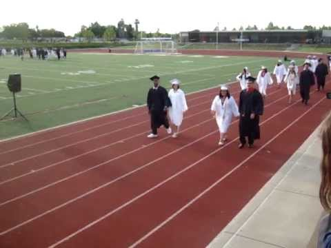 fhs foothill high school graduation 2011 youtube