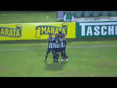 Tupi MG 2 x 0 Bahia  Gol de Marco Serrato - 21/6/2016