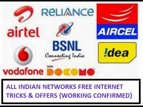 Free unlimited Internet data Trick for All Network Airtel Vodaofone Idea Reliance
