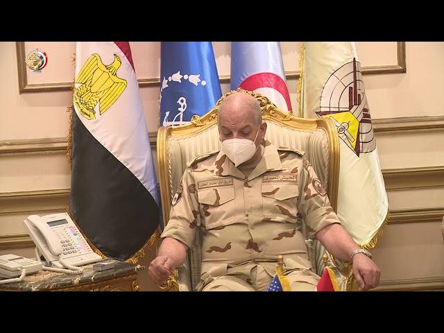 لقاء القائد العام مع قائد القيادة المركزية الامريكيه - وزارة الدفاع المصرية
