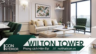 THIẾT KẾ CĂN HỘ CAO CẤP WILTON TOWER - Đẹp thanh lịch trong từng đường nét