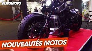 Mondial de l'Auto : les nouveautés moto, à chacun son style