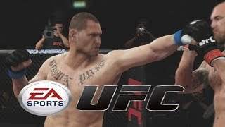 EA SPORTS UFC - FIRST ROUND KNOCKOUT!!! - EA SPORTS UFC ONLINE