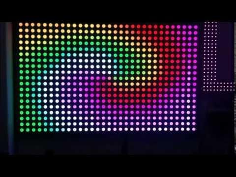 Led Panel Backdrop For Dj Disco Pubs Restaurants Facade Led Youtube