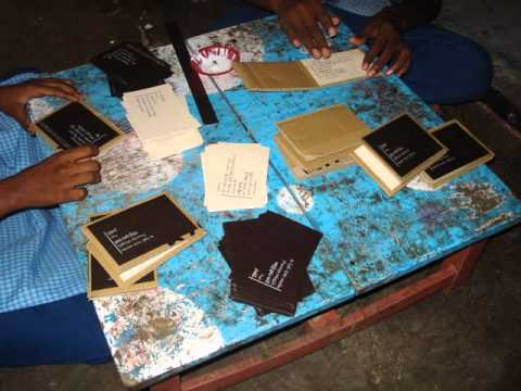 Invtation card making with waste material youtube for Waste to best material