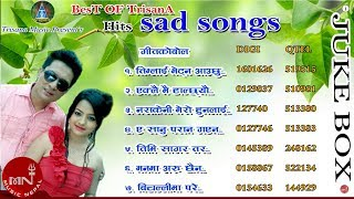 Best Hit Song of TRISANA Music || Sad Songs Collection