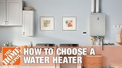 How to Choose a Water Heater | The Home Depot