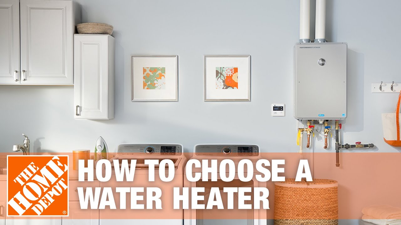 How to Choose a Water Heater - YouTube