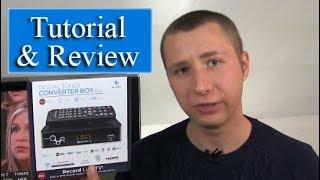 Ematic AT103B Digital Converter Box + DVR Recording Tutorial & Review