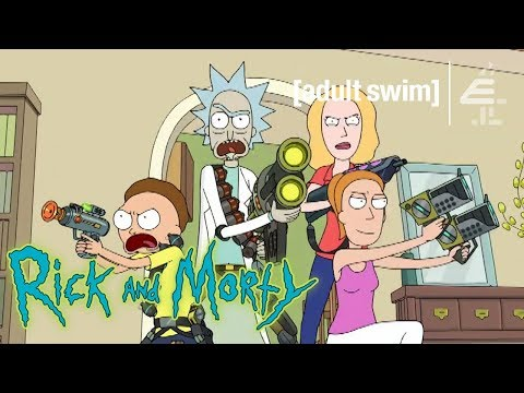 Beth Shoots Mr. Poopybutthole | Rick and Morty