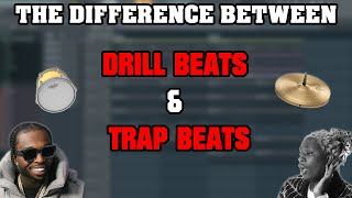 What are the Differences Between Drill Beats and Trap Beats?