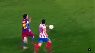 Lionel Messi'nin en güzel on frikik gölü