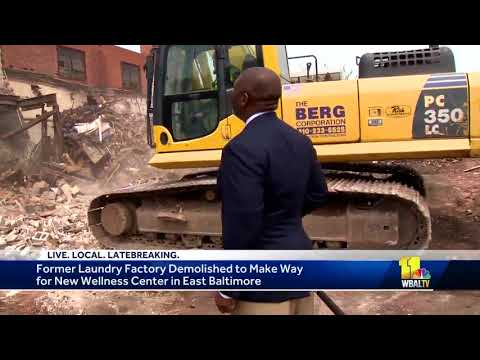 Demolition begins for new Southern Streams Health and Wellness Center