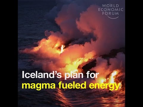Iceland's plan for magma fueled energy