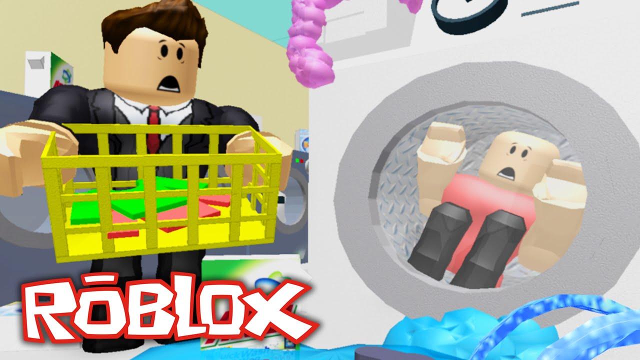 Roblox - Escape the Launderette - EVIL KILLER GRANDMA ...
