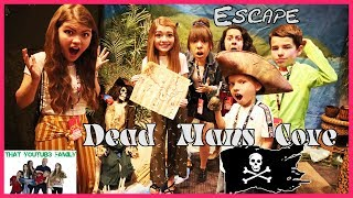 Escape Abandoned PiRATE COVE! Solve Hidden Clues Challenge For Kids / That YouTub3 Family