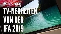 IFA 2019: TV-Neuheiten und Trends von LG, Samsung, Philips & Co. – GIGA.DE