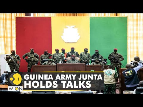 Guinea army junta holds talks with political, religious and business leader   Latest World News