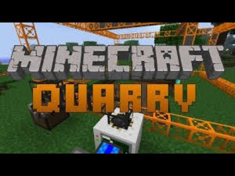 How to make a Quarry in minecraft using the buildcraft mod