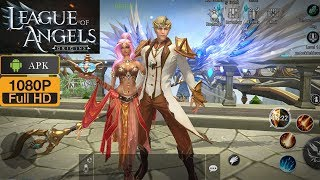 League of Angels Origins Gameplay Android MMORPG Open World
