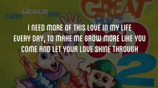 Lord Let Your Love Shine Through Me - Great Big God  Lyric Video (Vineyard UK Kids Worship)