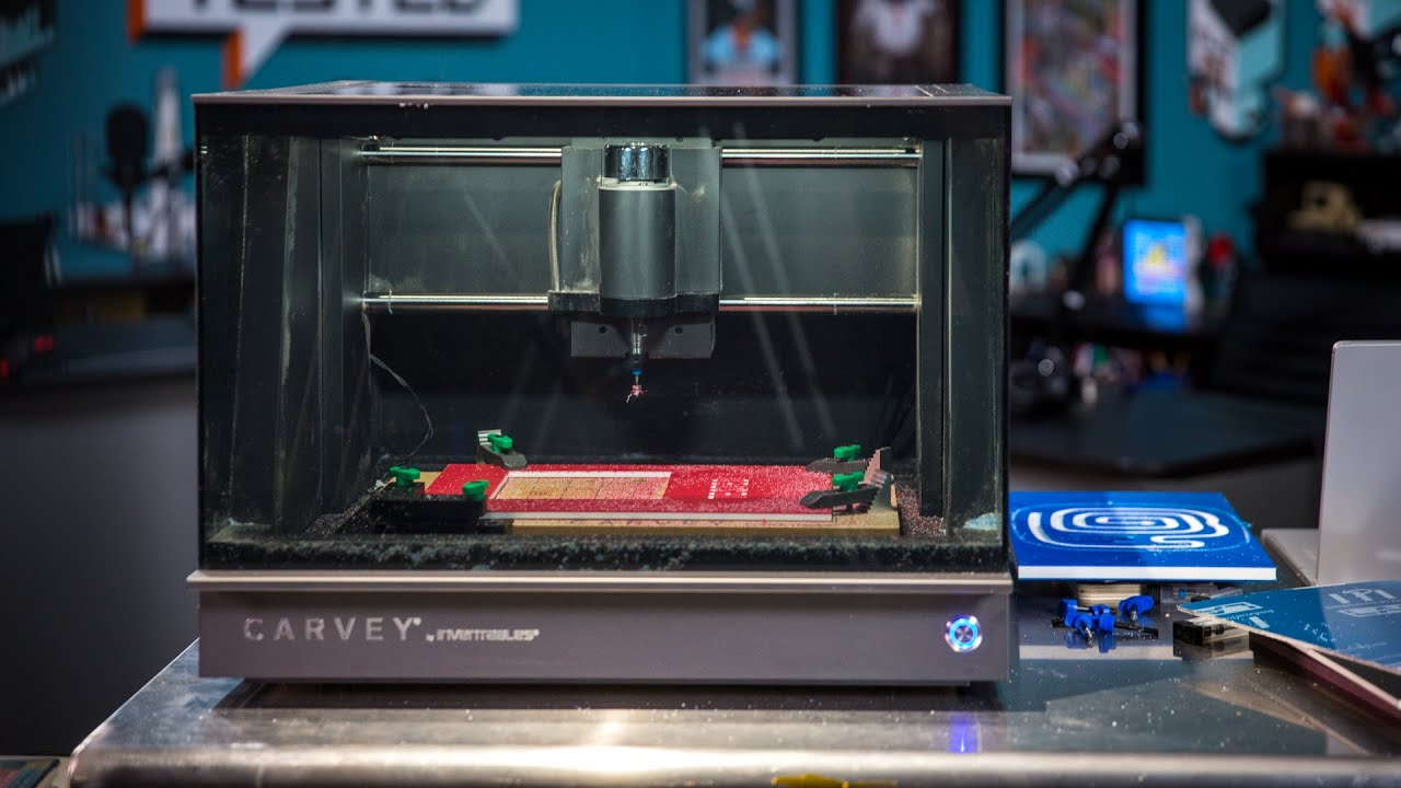 Tested Carvey Desktop Cnc Machine Review Youtube