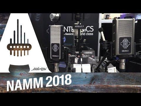 Sontronics Microphones - New Ribbon Models - NAMM 2018