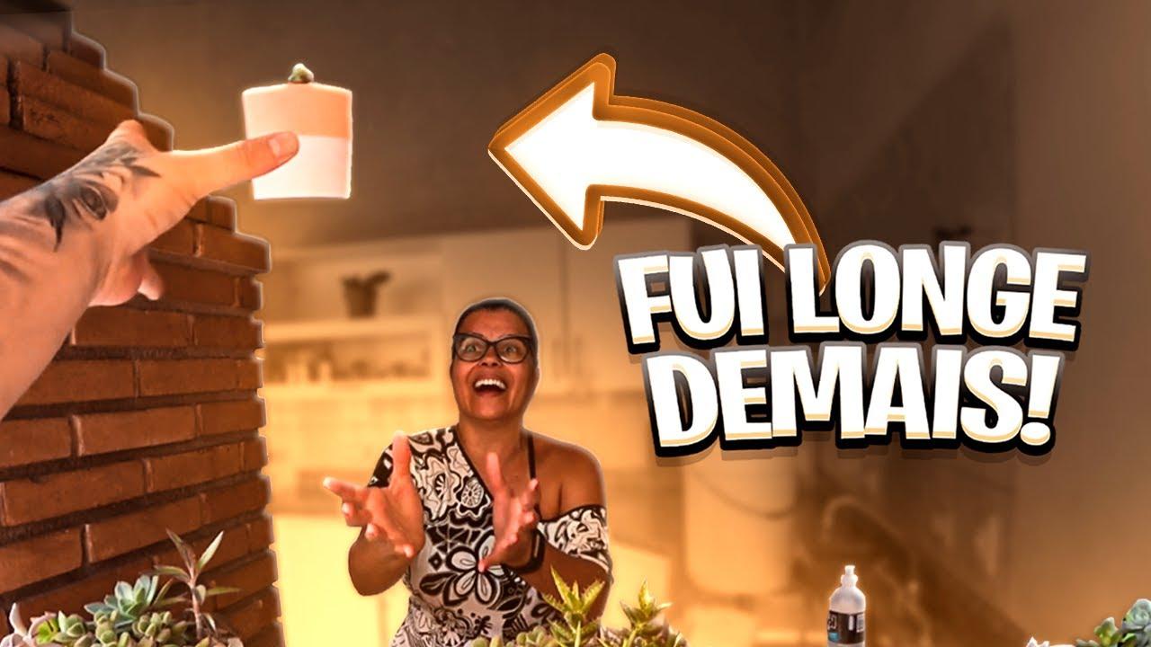 MÃE, SEGURE O VASO!! (péra, quê?!??)
