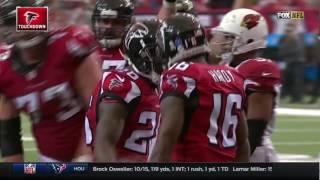 Julio Jones' Sideline Snag Leads to Tevin Coleman's TD | Cardinals vs. Falcons | NFL