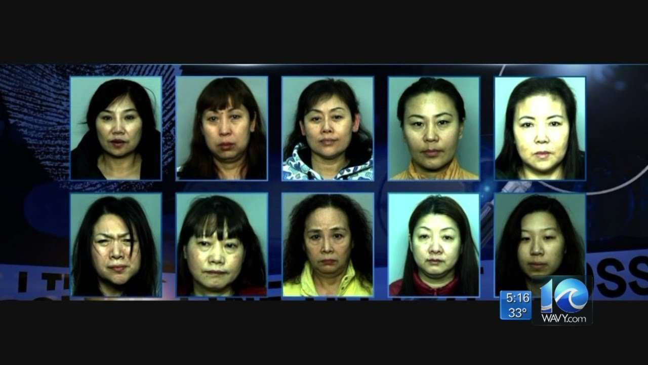 Massage Parlor Bust