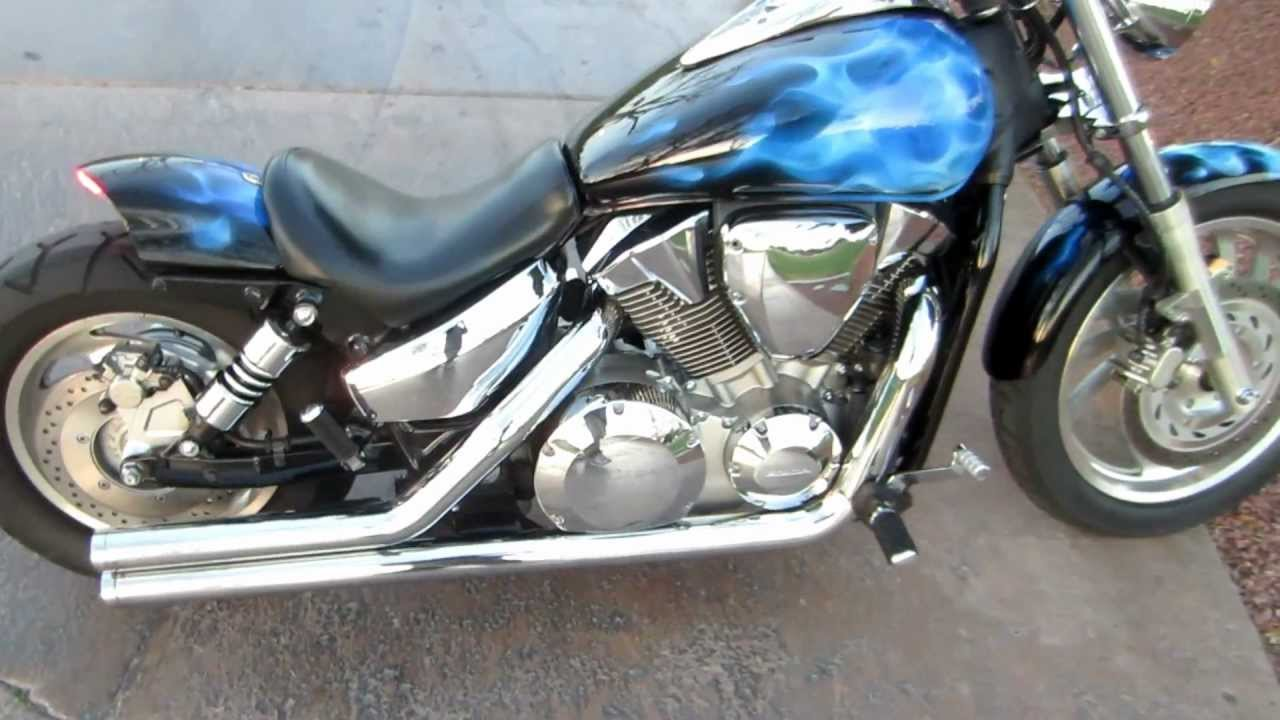 hight resolution of custom honda vtx 1300 c walk around