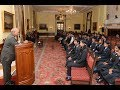 President Kovind meets students and teachers from Tapasya Public School, Wardha