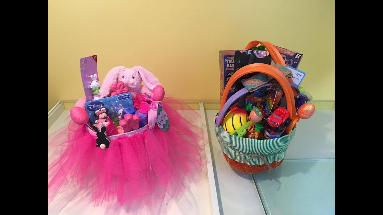 Easter basket ideas girl and boy 2016 youtube negle Gallery