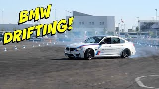 We Went Drifting In A BMW M3 At SEMA 2017 Day 2