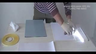 видео Изготовление акрилайтов, светящиеся панели, гравировка