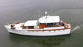 Large Wooden Boat At Hhh Marina