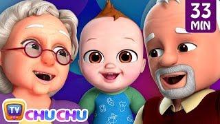 Johny Johny Yes Papa - Grandparents Song + More Nursery Rhymes by ChuChu TV