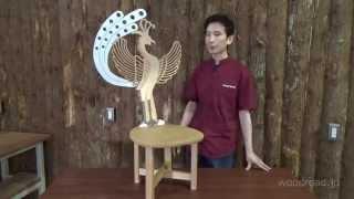 ウッドロード木工教室に通われている生徒さんの作品紹介。 第一回目は「...