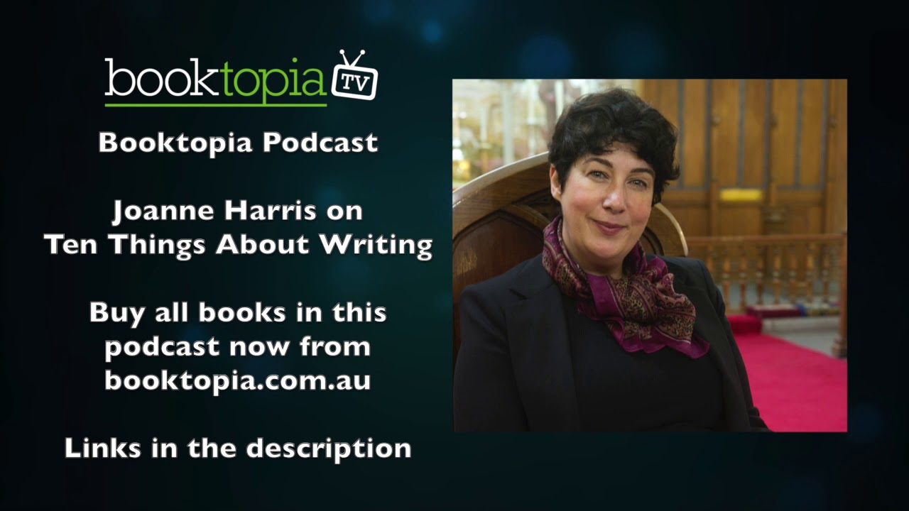 Booktopia Podcast with Joanne Harris on the state of the publishing industry
