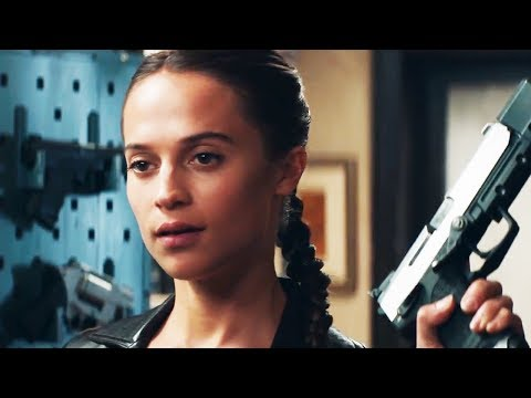 Tomb Raider Trailer 2017 Alicia Vikander plays Lara Croft 2018 Movie - Official