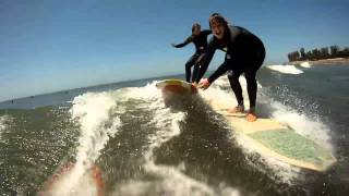 Clay Victoria surf with Go pro