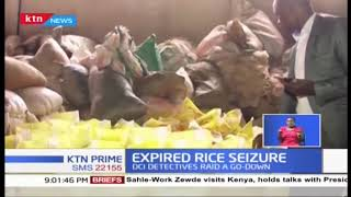 How DCI officers nabbed expired rice while being repackaged