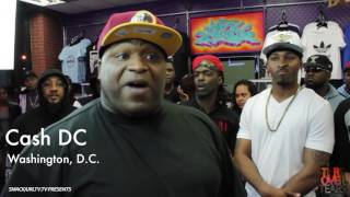 Tiers Over Tears Presents Cash DC vs Krazy George
