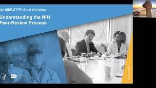 NIA SBIR STTR Virtual Workshop Understanding the NIH Peer Review Process
