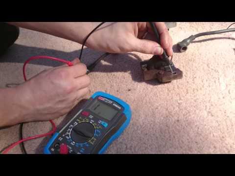 PushMowerRepair.com - Briggs Ignition Coil Testing