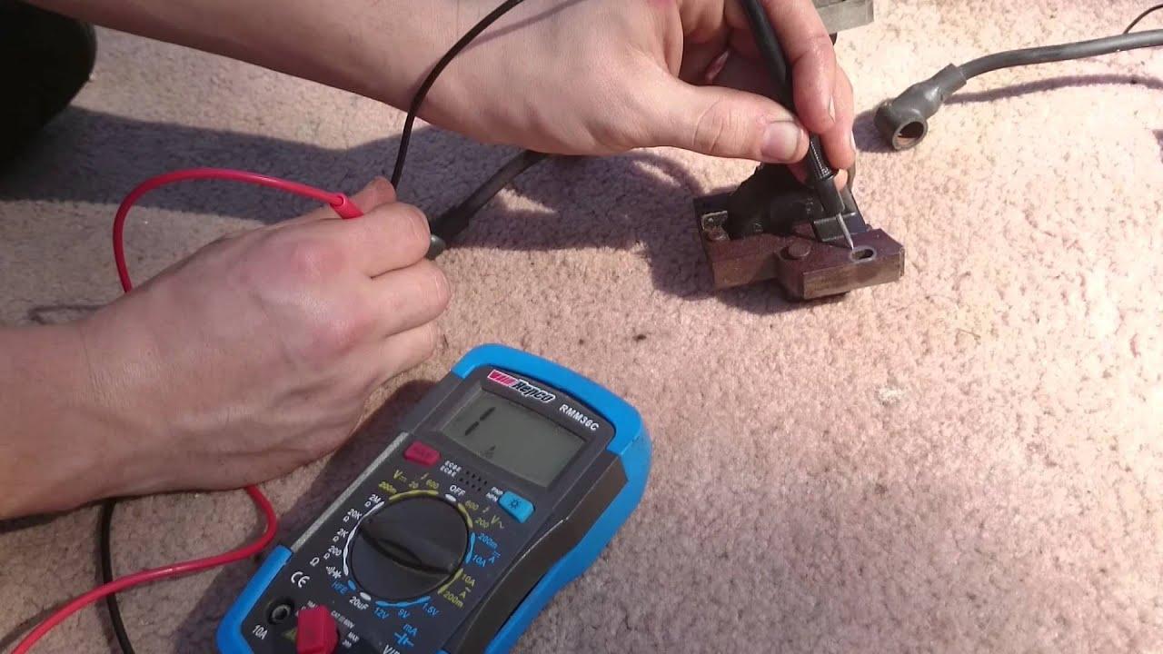 small resolution of pushmowerrepair com briggs ignition coil testing