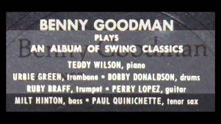 Benny Goodman, March 26, 1955, Basin Street: Slipped Disc; On The Alamo; Just One Of Those Things