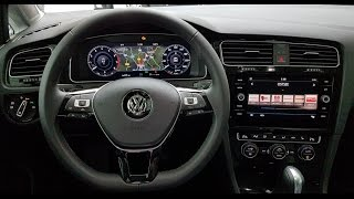 VW das neue Active Info Display AID im Golf 7 MkVII Update Facelift Highline 2017 フォルクスワーゲン ゴルフ