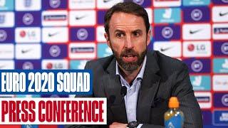 Gareth Southgate Press Conference | England's Provisional UEFA Euro 2020 Squad